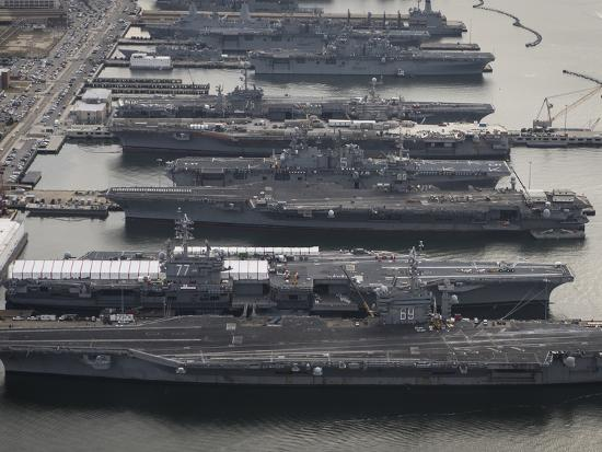 stocktrek-images-aircraft-carriers-in-port-at-naval-station-norfolk-virginia