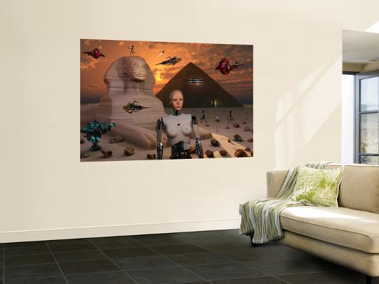 stocktrek-images-artist-s-concept-of-the-pyramids-and-sphinx-being-built-by-an-advanced-alien-race