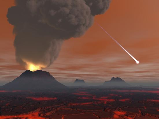 stocktrek-images-artist-s-concept-showing-how-the-surface-of-earth-appeared-during-the-hadean-eon