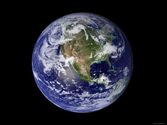 stocktrek-images-full-earth-showing-north-america