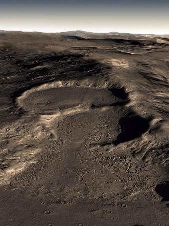 stocktrek-images-three-craters-in-the-eastern-hellas-region-of-mars