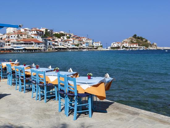 stuart-black-restaurants-on-harbour-kokkari-samos-aegean-islands-greece