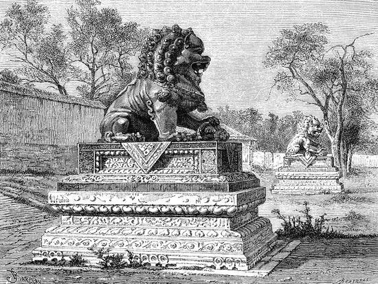 summer-palace-bronze-lion-emblem-of-the-imperial-power-c1890