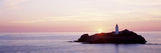 sunset-godrevy-lighthouse-cornwall-england-united-kingdom