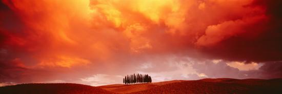 sunset-tuscany-val-d-orcia-italy