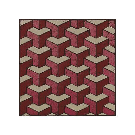 susan-clickner-3-part-tumbling-block-red