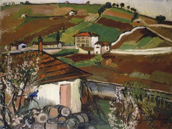 suzanne-valadon-houses-in-the-countryside-1921