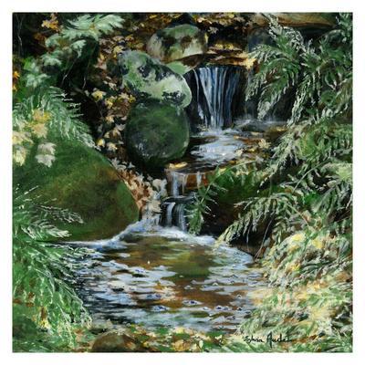 Cascades en sous bois Art Print by Sylvia Audet at Art co uk # Assistante Sociale Aulnay Sous Bois