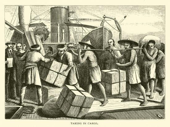 taking-in-cargo