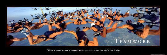 teamwork-sky-divers