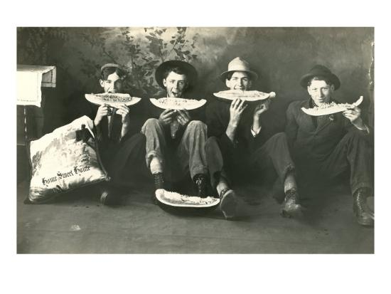 teenagers-eating-watermelon