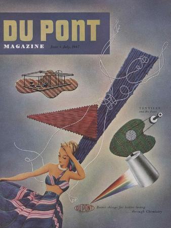 textiles-and-du-pont-front-cover-of-the-du-pont-magazine-june-july-1947