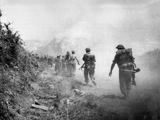 the-8th-army-attack-on-monte-cassino-during-world-war-two