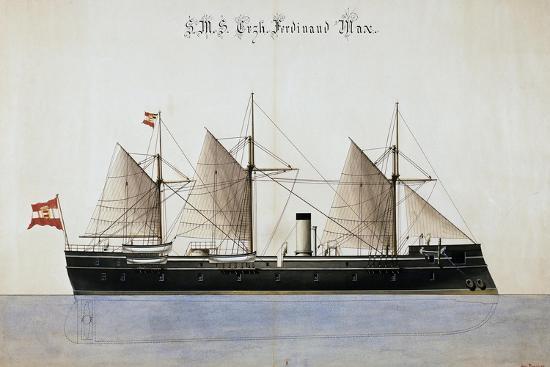 the-austrian-battleship-the-erzherzog-ferdinand-max