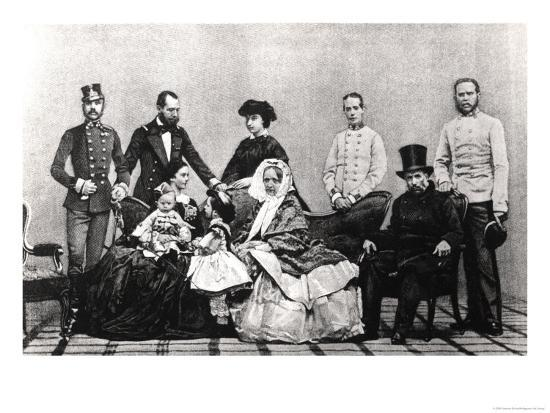 the-austrian-imperial-family-1860