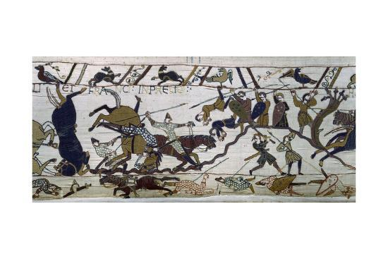 the-bayeux-tapestry-the-battle-is-raging-norman-conquest-1066