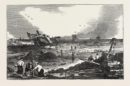 the-betsy-cains-ashore-at-tynemouth-uk