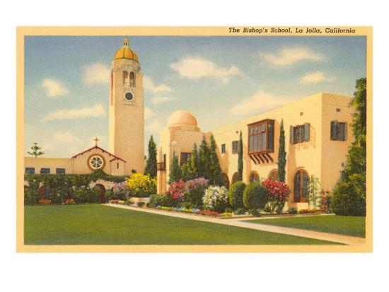 The bishops school la jolla california art print at art the bishops school la jolla california reheart Images