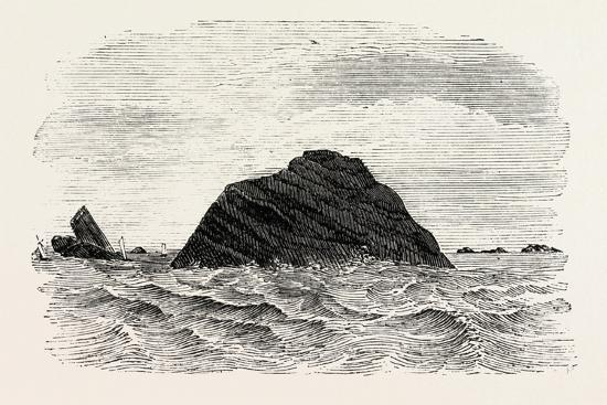 the-black-rock-off-the-coast-of-mayo-1860
