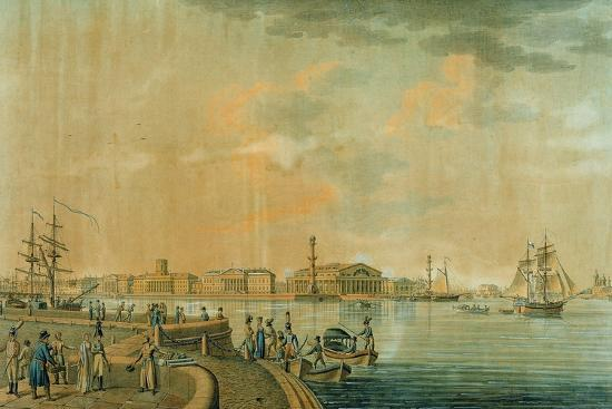 the-bourse-and-the-rostral-columns-saint-petersburg-1807