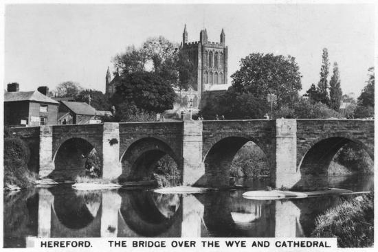 the-bridge-over-the-wye-and-cathedral-hereford-1936