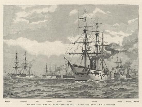 the-british-squadron-cruising-in-mozambique-channel-under-rear-admiral-sir-e-r-fremantle
