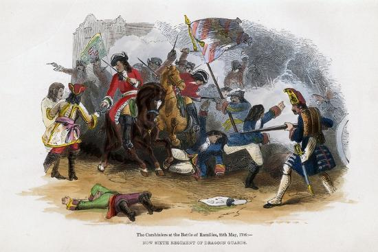 the-carabiniers-at-the-battle-of-ramillies-23rd-may-1706