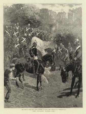 the-cavalry-manoeuvres