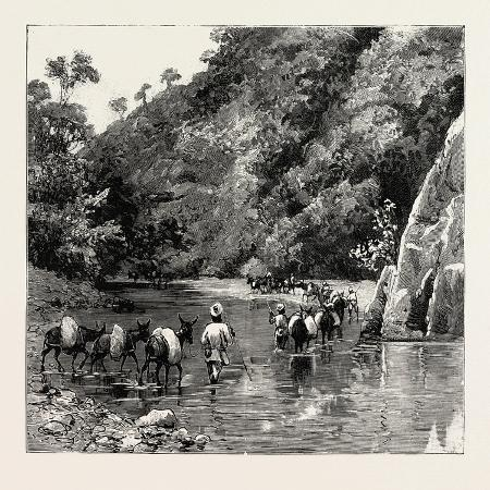the-chin-lushai-expeditionary-force-a-mule-convoy-crossing-the-loung-gut-choung-stream-1890