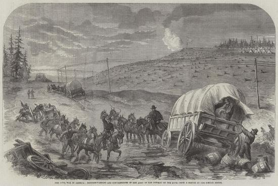 the-civil-war-in-america-baggage-waggons-and-gun-carriages-of-the-army-of-the-potomac-on-the-move