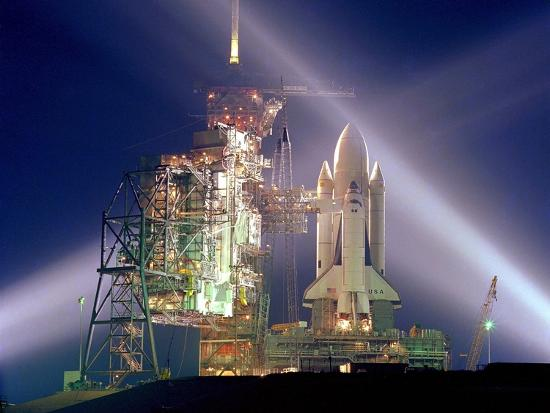 the-columbia-on-launch-pad-prior-to-first-launch-of-30-year-space-shuttle-program-apr-12-1981