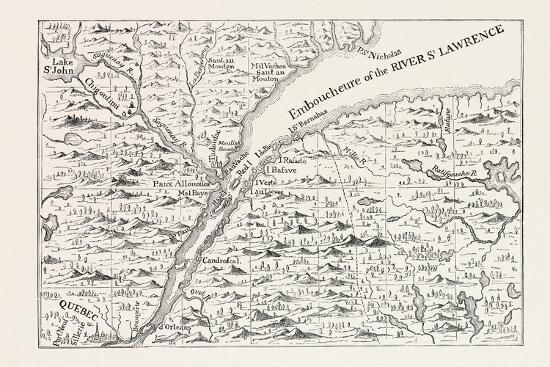 the-course-of-the-river-st-lawrence-as-far-as-quebec-from-popple-s-atlas-1730-canada-1870s