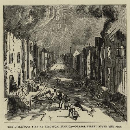 the-disastrous-fire-at-kingston-jamaica-orange-street-after-the-fire