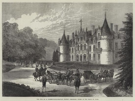 the-duke-de-la-rochefoucauld-bisaccia-s-chateau-d-esclimont-visited-by-the-prince-of-wales