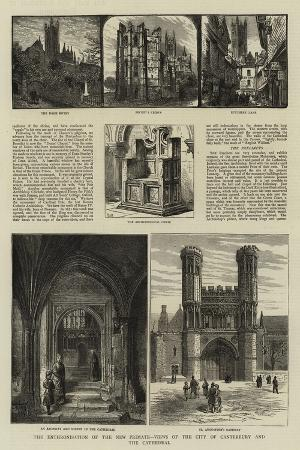 the-enthronisation-of-the-new-primate-views-of-the-city-of-canterbury-and-the-cathedral