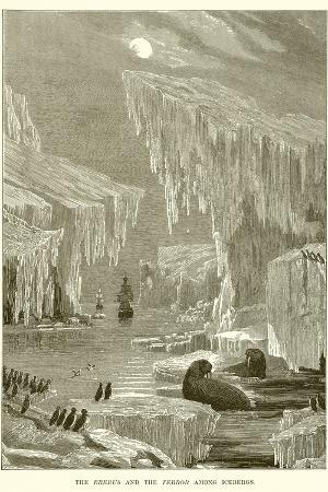the-erebus-and-the-terror-among-icebergs