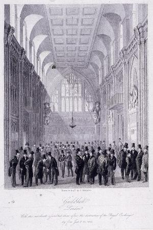 the-guildhall-london-1838