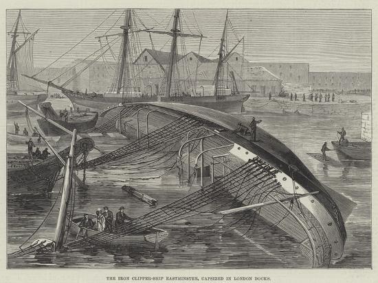 the-iron-clipper-ship-eastminster-capsized-in-london-docks