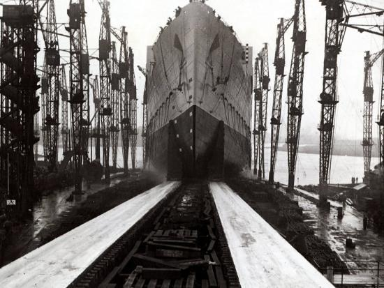 the-launch-of-the-ship-the-queen-mary