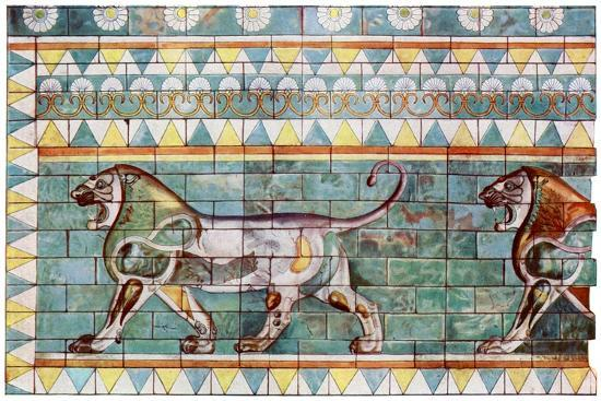 the-lion-frieze-from-king-darius-winter-palace-at-susa-iran-1933-1934