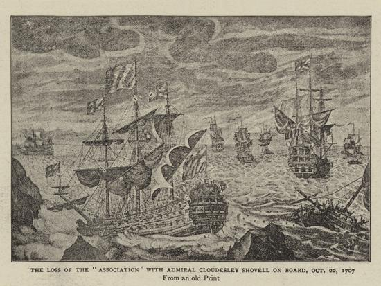 the-loss-of-the-association-with-admiral-cloudesley-shovell-on-board-22-october-1707