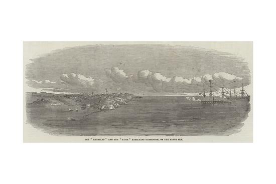 the-magellan-and-the-sidon-attacking-kustengeh-on-the-black-sea