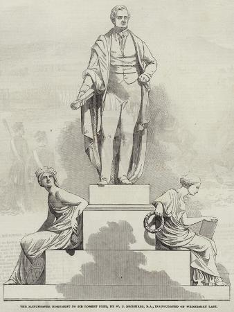 the-manchester-monument-to-sir-robert-peel-by-w-c-marshall-ra-inaugurated-on-wednesday-last