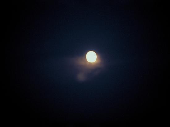 the-moon-shining-in-the-dark-sky