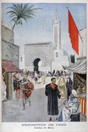 the-moroccan-pavilion-at-the-universal-exhibition-of-1900-paris-1900