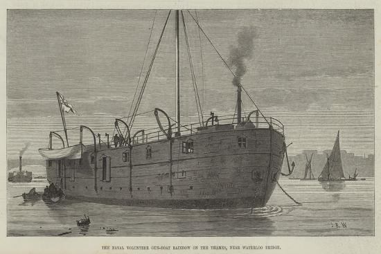 the-naval-volunteer-gun-boat-rainbow-on-the-thames-near-waterloo-bridge