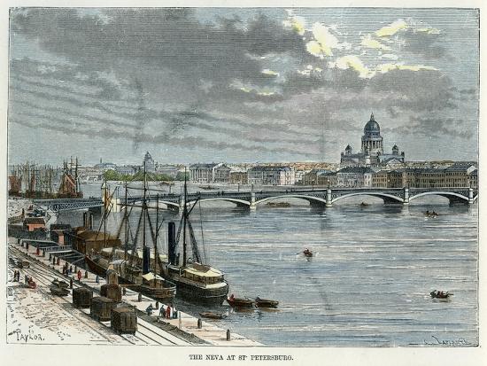 the-neva-at-st-petersburg-russia-c1880