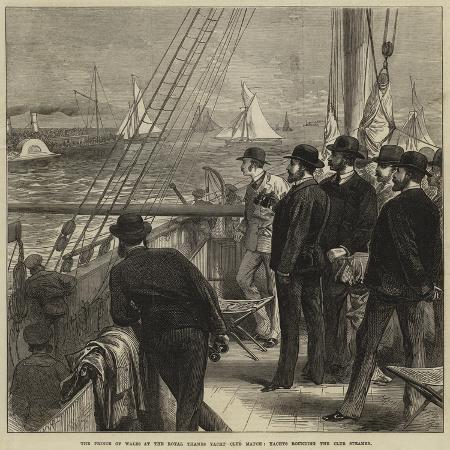 the-prince-of-wales-at-the-royal-thames-yacht-club-match-yachts-rounding-the-club-steamer