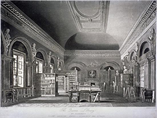 the-queen-s-library-in-st-james-s-palace-westminster-london-1819