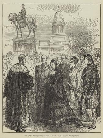 the-queen-unveiling-the-scottish-national-albert-memorial-at-edinburgh